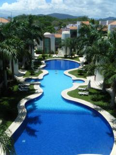 Beautiful pool 44 meters ( 245 feet ) long