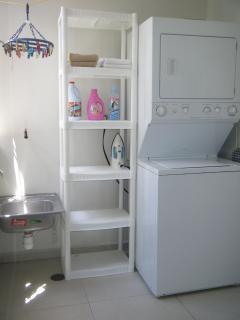 Full laundry room - washer and dryer