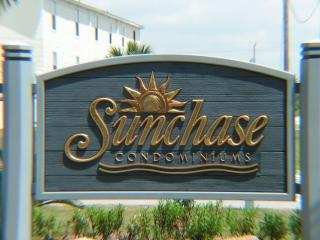 SunChase Building Sign