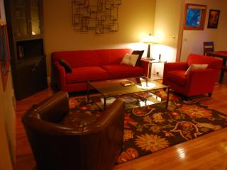 Living Room at The Broadway Guest House in Granville Ohio