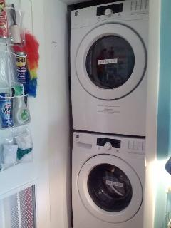 FREE laundry in-house. New washer and dryer