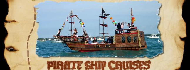 Take the kids on a pirate ship!