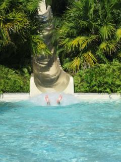 Water Slide at the Grand Mayan
