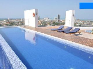 High end studio with free airport pickup, Cartagena