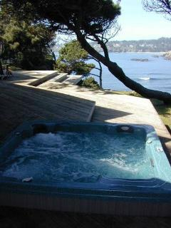 ... & a hot tub with a view