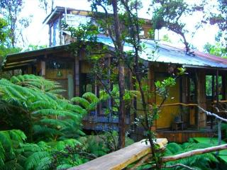 Hawaii Volcano Genuine Treehouse rental, Volcán