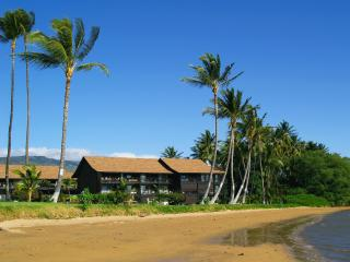 Molokai Shores Resort is directly on the ocean