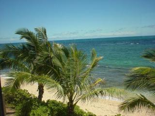 Beach view from condo.