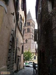 via del Riserraglio and Cathedral of San Lorenzo