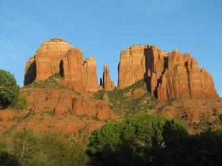 Cathedral Rock, a short hike away