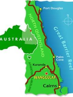 Wanggulay Map - Where we are in Australia