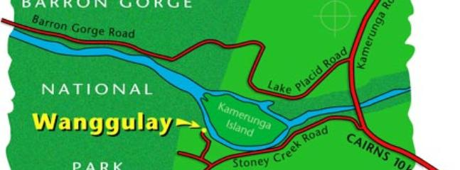 Wanggulay Map - where we are in the local area