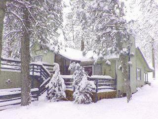The Getaway Chalet-3bd,2ba-backs to the forest-perfect for sledding