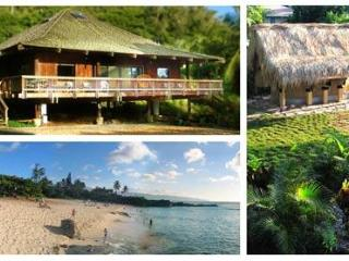 North Shore Oahu Tropical Luxury Private BeachHome - Sleeps 6, Haleiwa