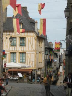 View from side window of Rue de Jerzual