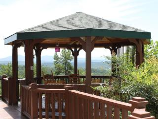 Gazebo with spectacular views