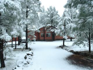 Cozy modern cabin in Pinetop's Az - horses allowed, Pinetop-Lakeside