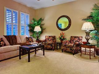 Luxurious living area with immediate access to private lanai.  Ko Olina Resort, Oahu, Hawaii