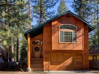 Upscale Cabin Close to Bike Paths and Beaches w/Hot Tub and Horseshoe Pit!
