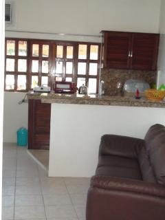Kitchen fro living area