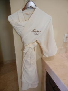 Sets of Robes in each bathroom