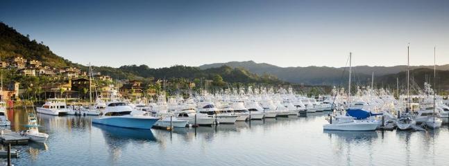 The Los Suenos world renowned Marina