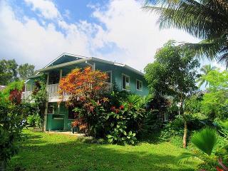 Beautiful Home One Block to Beach Hanalei, Kauai