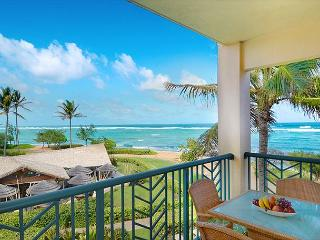 OCEAN Bliss** H302 is ONE of THE BEST BEACH view suits at Waipouli, Kapaa