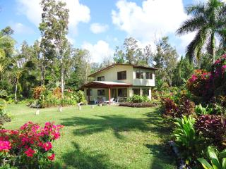 Aloha Lani Ocean VIEW Coastal Home on 3 Tropical acres. Please Read our reviews