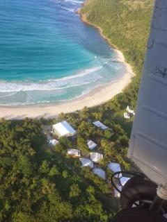 Culebra Beach Villas from The Sky