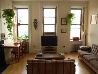 spacious apartment in a townhouse, New York