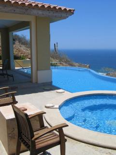 Southwestern view of Pool - Villa 55