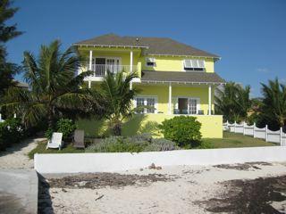 Villa from oceanside