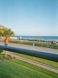 Eastern view of the Gulf from the Villa towards Destiny by the Sea,multi-million dollar neighborhood