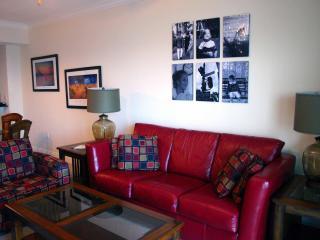84' Leather Sleeper Sofa