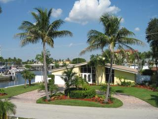 Waterfront with Yacht, Pompano Beach