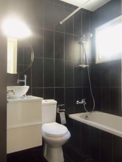 Rennovated bathroom