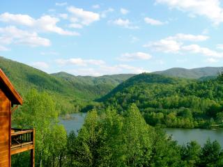 Million Dollar Views of Lake and Mtns, Luxury Cabin Experience, Hot Tub,