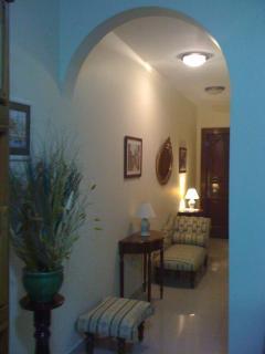 Hallway to Bedrooms/Bathrooms/Back Terrace