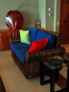Living Room with 47\' LCD HD TV