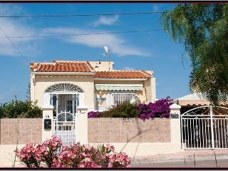 Lovely detached sunny villa, La Marina, Spain.