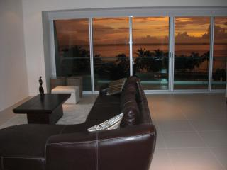 Living Room Sunset View