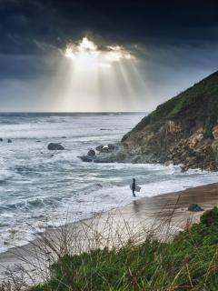 Punta Paloma beach, this winter....