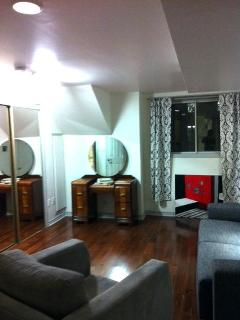 1 Bedroom Private Apartment- Living room