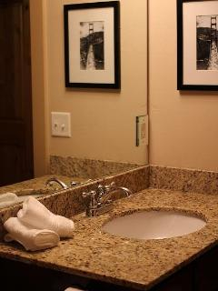 Second Bathroom with all the amenities