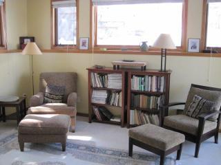 sunny reading room