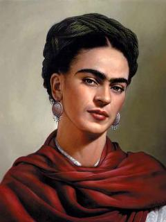 The beautiful Frida Kahlo