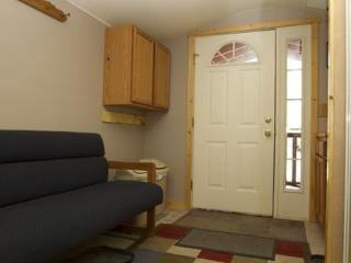 Entry Vestibule into Guest Cabin