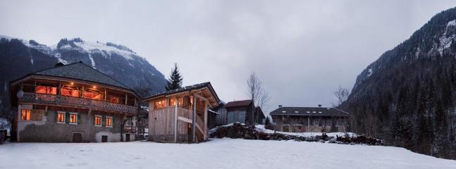 The Garden - The Retreat & Mazot Barn