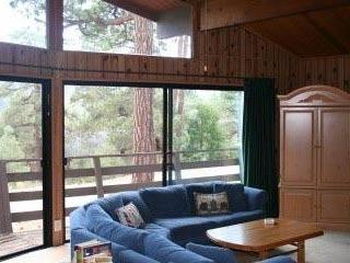 Beautiful Views  of the Pine trees from the Living Room